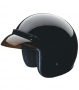 Open Face HCI-10 BLACK Helmet