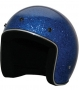 Open Face HCI-10 Blue Glitter