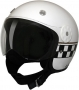 Open Face HCI-15 White Checkerboard