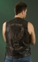 LAMen's Embossed Leather Vest ML 1346RT