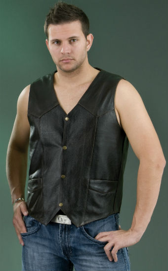 MEN'S BASIC PLAIN VEST ML 1310RT