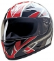 FULL FACE HELMET HCI 75-757 RED BLADE