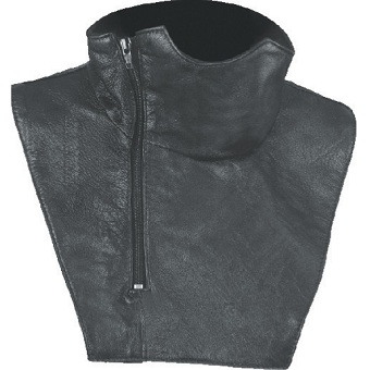 LEATHER NECK WARMER